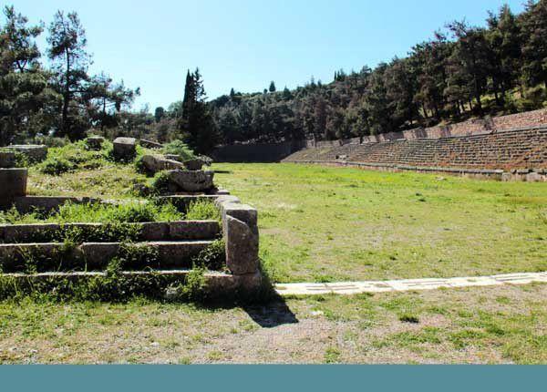 Le site de Delphes. Dimanche 23 mars 2014