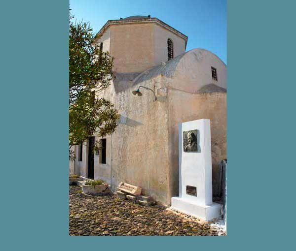 Pyrgos, Oia, Perissa, Mégalochori à Santorin. Du 9 au 11 avril 2014