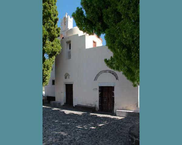 La Panagia Épiscopi, à Santorin. Mercredi 9 avril 2014