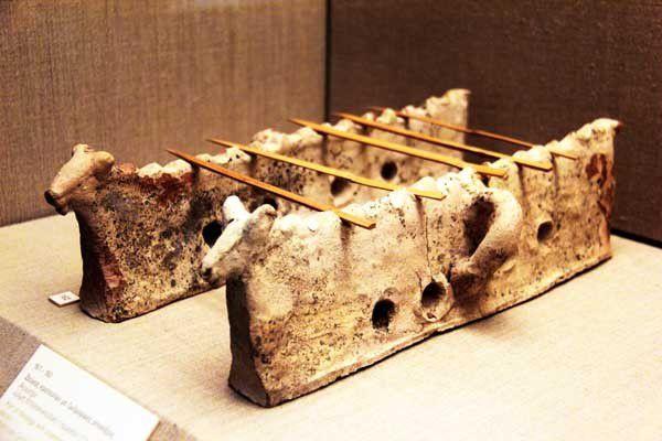 Le musée préhistorique de Santorin. 10 avril 2014