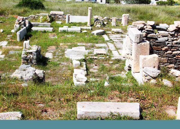 Paros : promenades dans l'île. Du 13 au 16 avril 2014