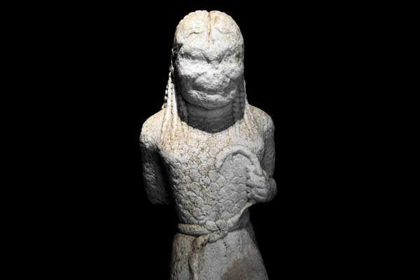 Le musée archéologique de Paros. Dimanche 13 avril 2014