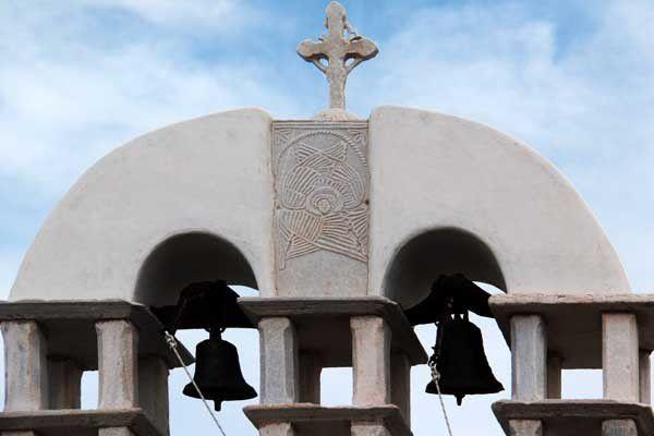 Lefkes, dans l'île de Paros. 14 et 16 avril 2014