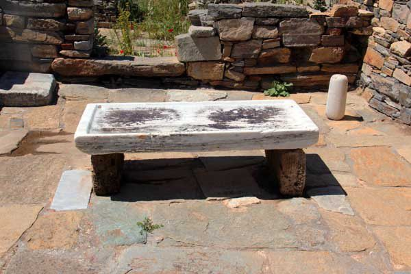 Délos, le site archéologique. Vendredi 18 avril 2014