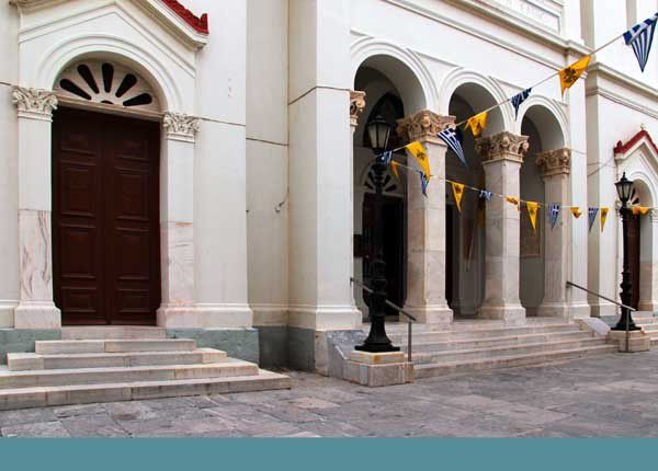 Andros, Chora. Du 19 au 26 avril 2014