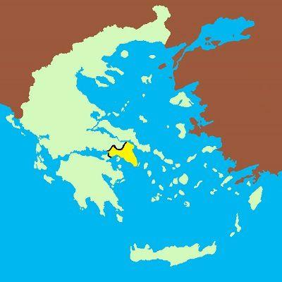 08/ GRÈCE : l'Attique moins Athènes