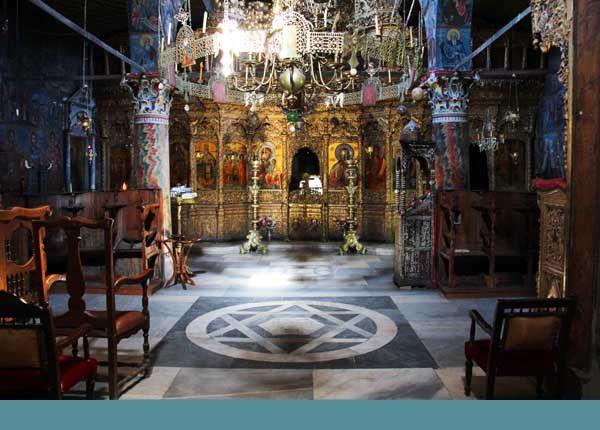 Lesbos 07 : Le monastère de Leimonos. 3 visites, juin et juillet 2014