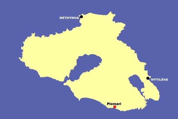 Lesbos 21 : Plomari et l'ouzo. Vendredi 11 juillet 2014