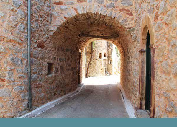 Quelques villages de Chios. Juillet 2014