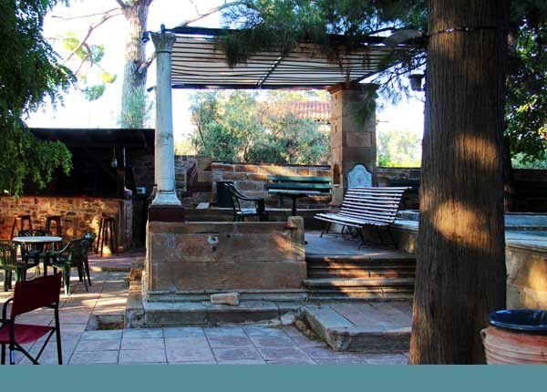 Kambos, dans l'île de Chios. Mardi 29 juillet 2014