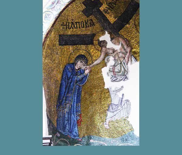 Le monastère de Néa Moni, à Chios. Les 18 et 19 juillet 2014