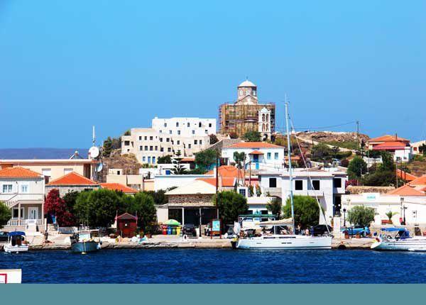 L'île de Psara. Samedi 26 juillet 2014