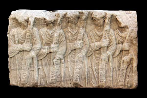 Le musée archéologique d'Izmir. Mardi 12 août 2014