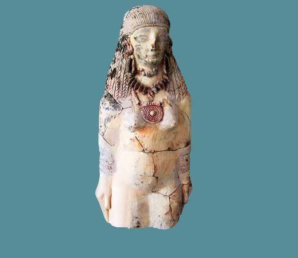Samos 08 : Sculptures de l'humain au musée. 29 et 30 août 2014