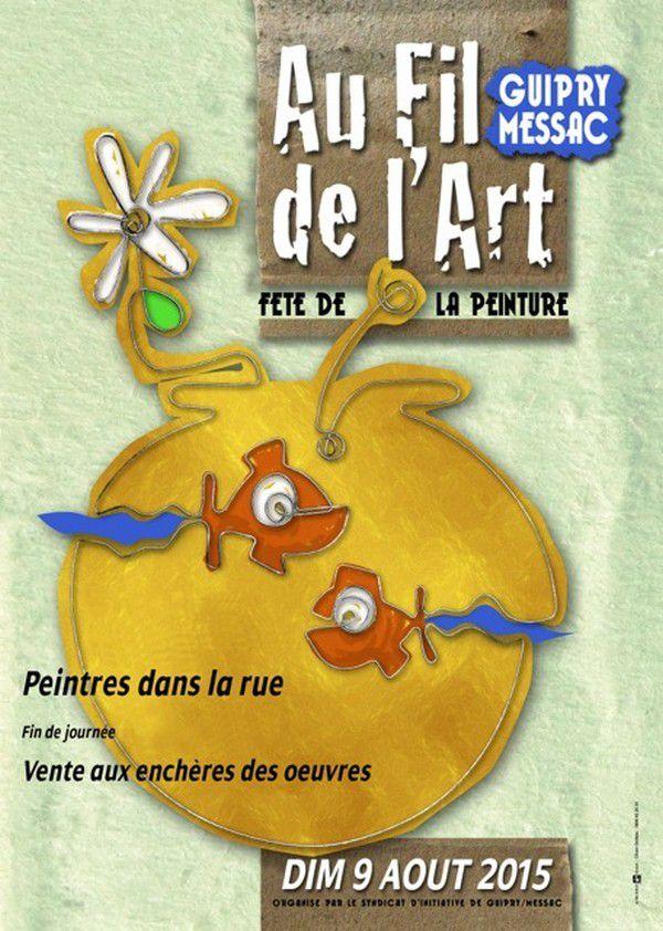 AU FIL de l'ART &amp&#x3B; PIQUE-NIQUE au CANAL