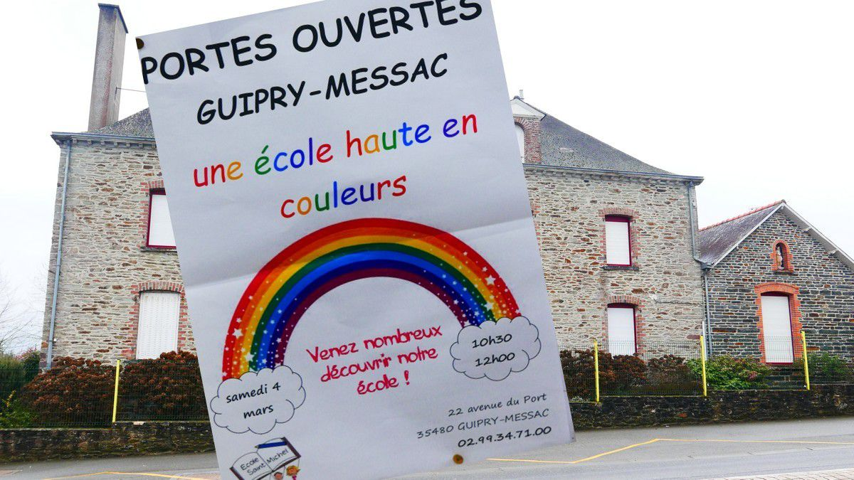 Ecole Saint Michel: Invitation