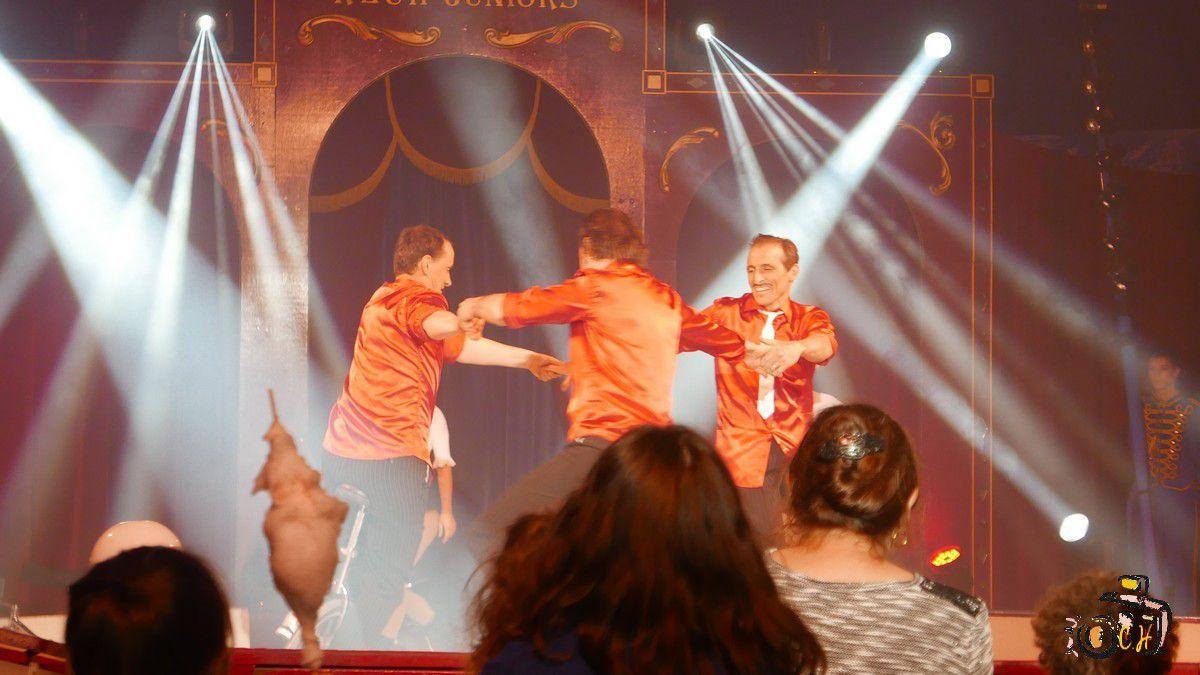 Spectacle du cirque RECH JUNIOR : On ADORE !!