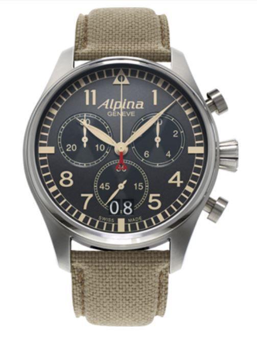 Parmi les plus anciens fabricants de montres suisses, Alpina tient une  place particulière en s étant dès le début, spécialisé dans les activités  techniques ... 32774bd1ee7