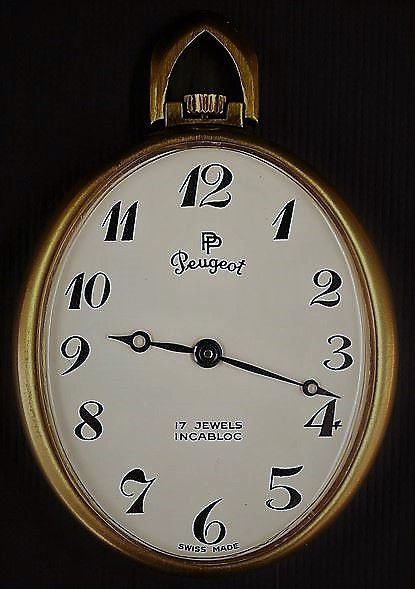 Montre Paul Peugeot Or 1957