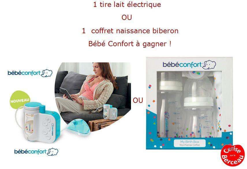 {Test et concours} Le tire-lait Natural Comfort de Bébé Confort