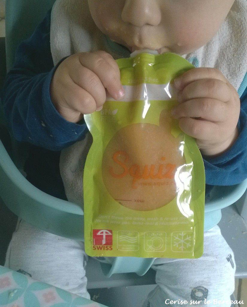 Des produits nomades et pratiques pour les repas de bébé