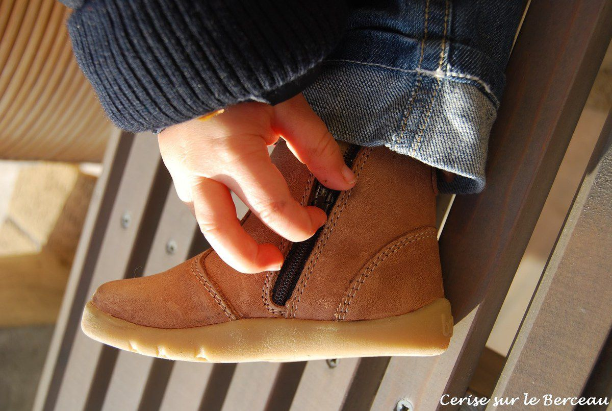Bottes Caramel Outback - I-Walk - Bobux (collection 2012)