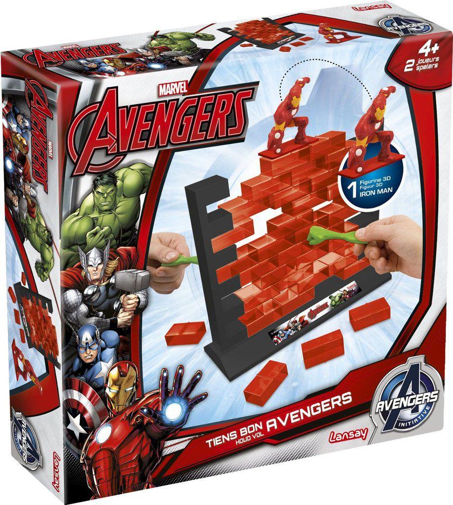 {Occuper les enfants en vacances} Le jeu &quot&#x3B;Tiens bon Avengers&quot&#x3B; de Lansay