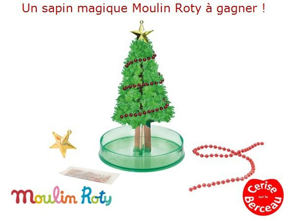 {Concours} Mon beau sapin, Moulin Roty ...