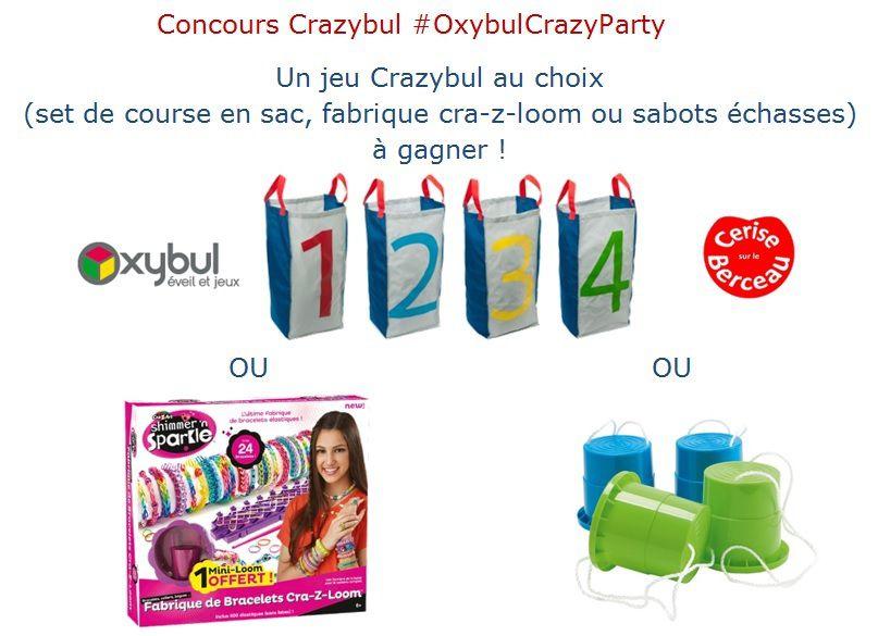 {Concours} Occuper les enfants cet été avec #OxybulCrazyParty