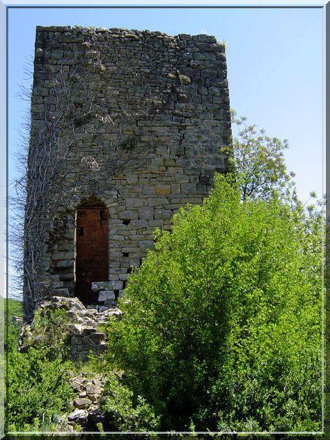 Diaporama château de CASTILLON - Bessèges