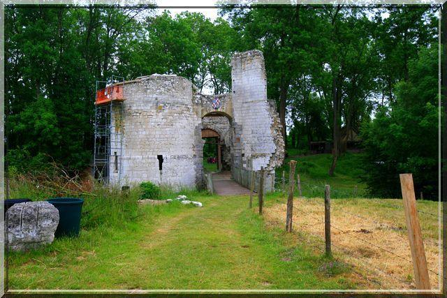 Diaporama château d'EAUCOURT sur SOMME