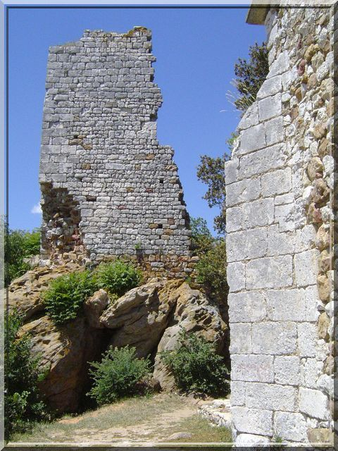 Diaporama château MASMOLENE