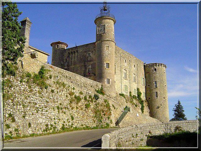 Un château austère et pourtant magnifique