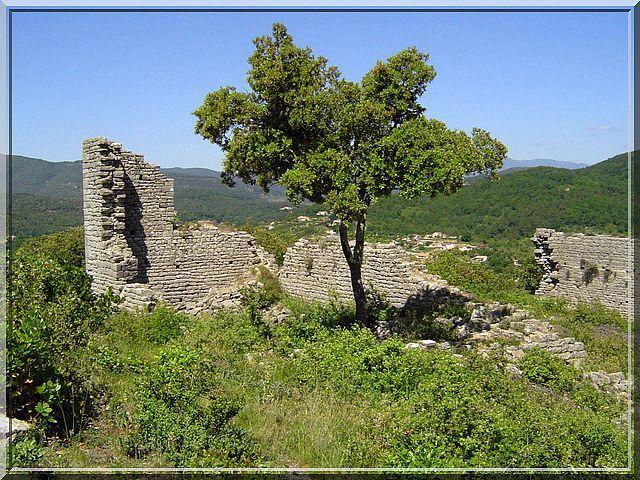 Diaporama château MONTALET à Molières sur Cèze
