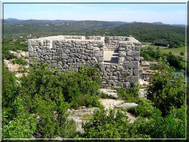 Diaporama castellas de SAUVE