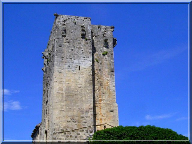 Diaporama château MONTCLUS sur CEZE
