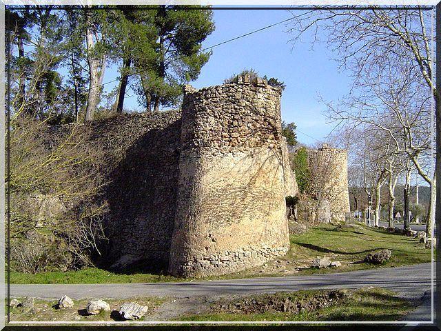 Rondes tours et droites courtines : Voila une fortification classique !