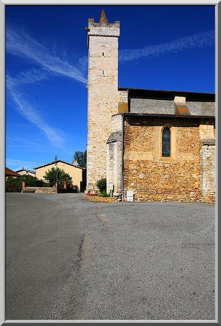 Diaporama église fortifiée de LE PLAN