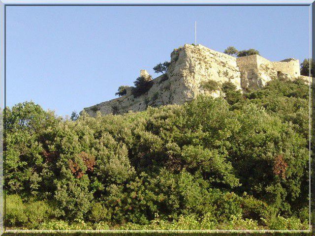 Diaporama château de GICON à Chusclan