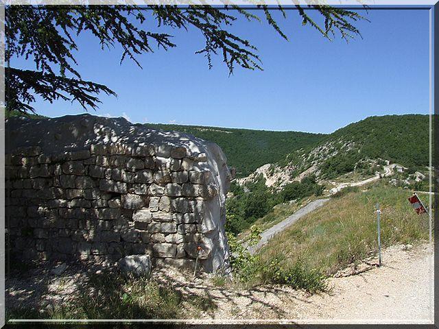 Le panorama est le bijou de toutes ruines castrales