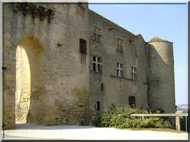 Diaporama château de MONTMAUR (Aude)