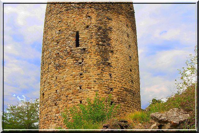 Diaporama château d'Arras sur Rhône