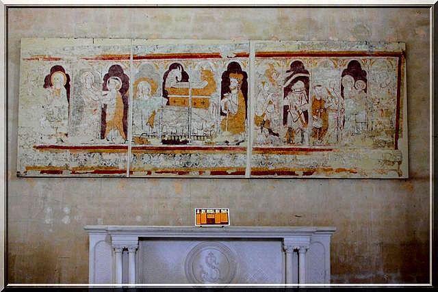 Peintures murales de la crypte