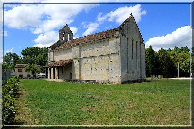 Architecture Romane et d'une grande simplicité
