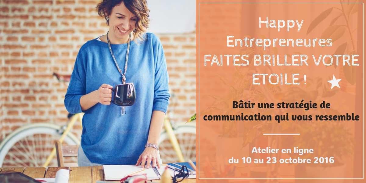 Happy Entrepreneures : Faites briller votre étoile ! #2