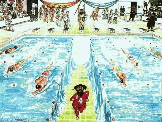 Moïse aux jeux olympiques