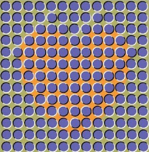 illusion d'optique: les images qui bougent ou pas (1)
