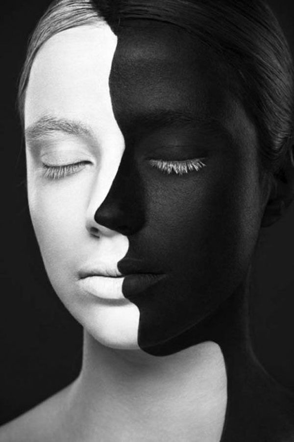 Illusion d'optique: visage de face ou de profil ?