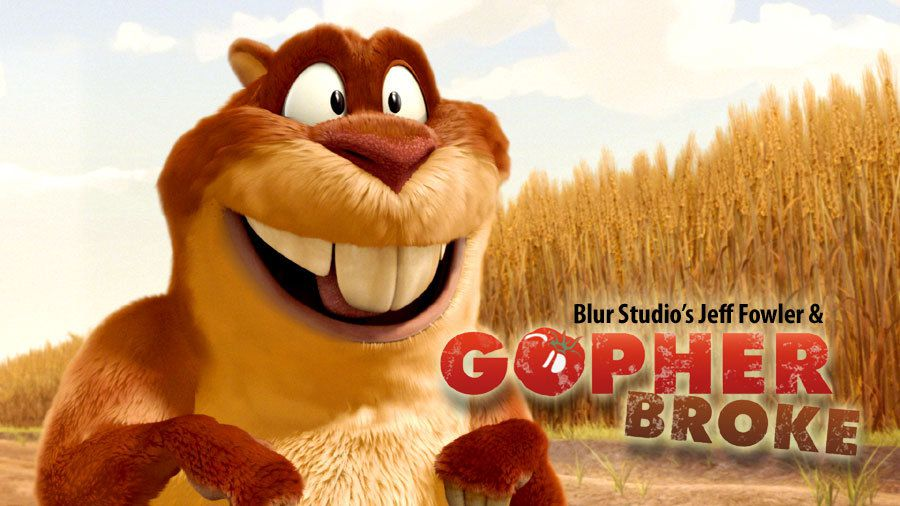 animation &quot&#x3B;Gopher broke&quot&#x3B; (studio blur)