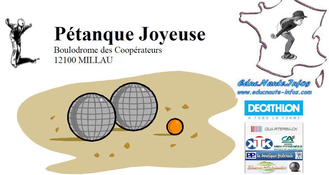Affiche officielle du Concours Jeunes de MILLAU